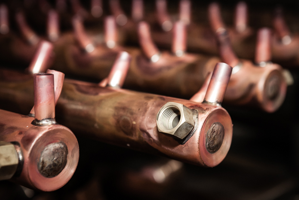 Copper manifolds - HTC Italia - Manifolds and distributors of stainless steel