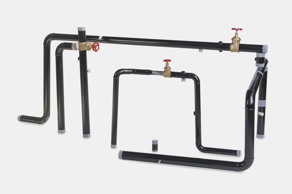 Shaped pipes of stainless and carbon steel, copper and pvc - HTC Italia